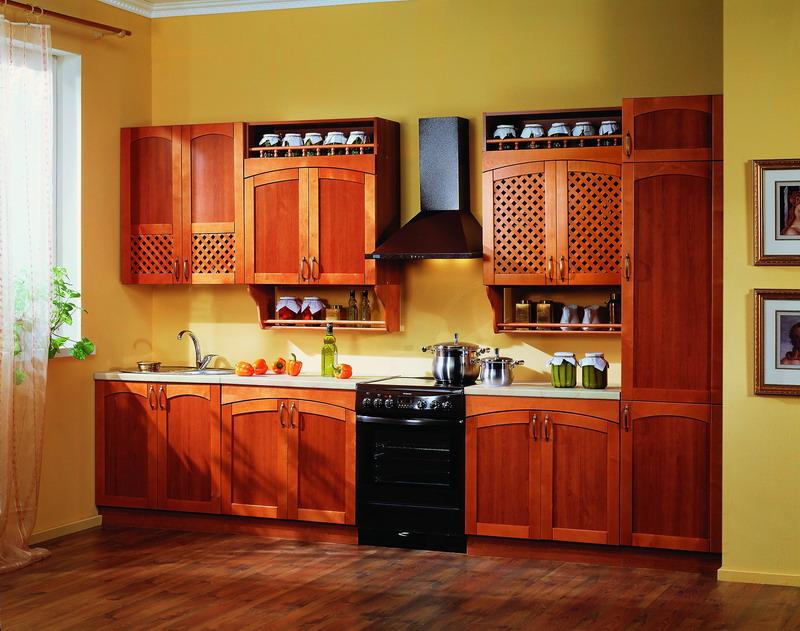 кухонный гарнитур плетенка